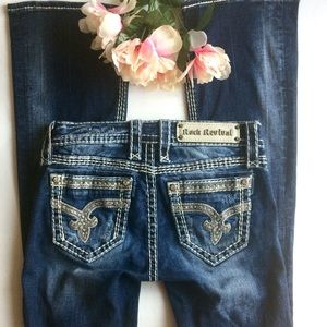 Rock Revival Sherry Bootcut Jeans Size 25